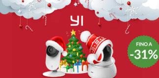 offerte natale telecamere di sicurezza yi coupon amazon