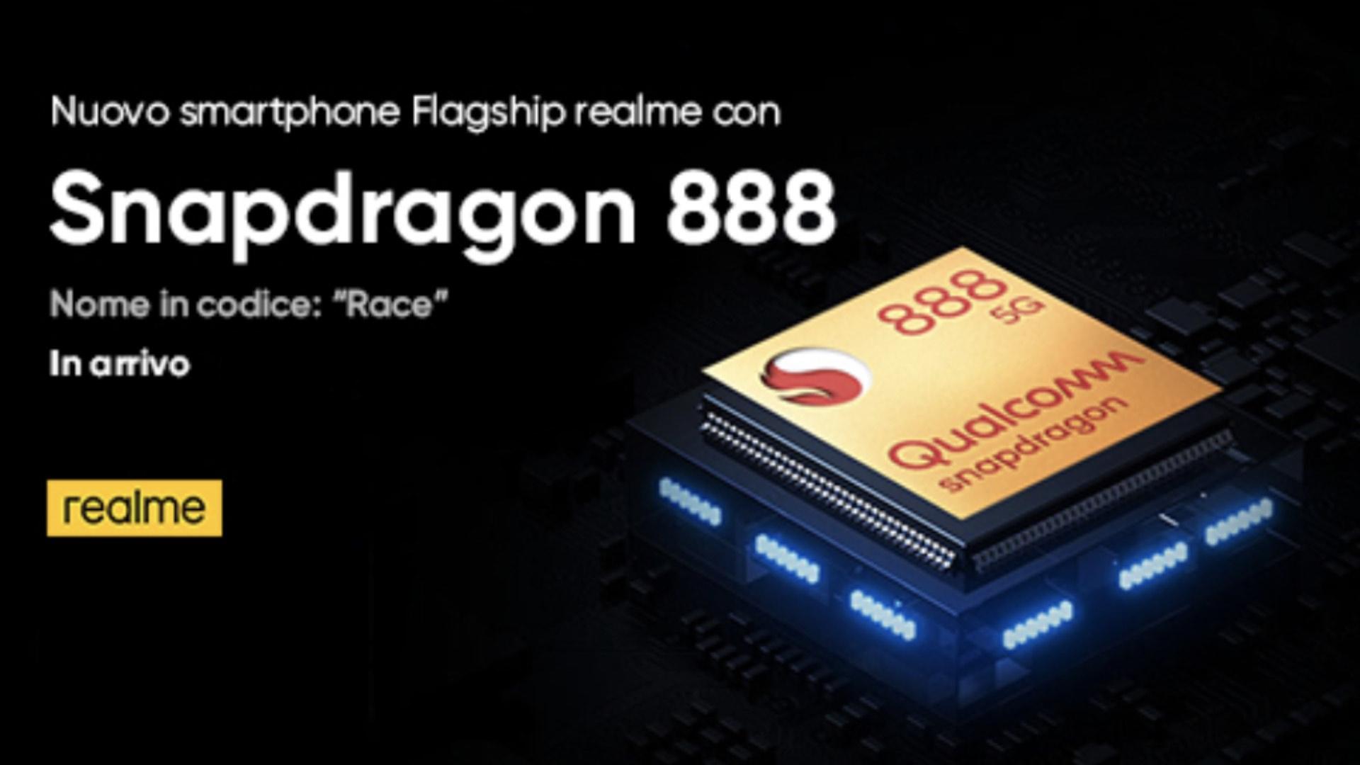 Qualcomm Snapdragon 888 è praticamente dietro l'angolo