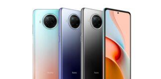 redmi note 9 pro 5g smartphone fascia media
