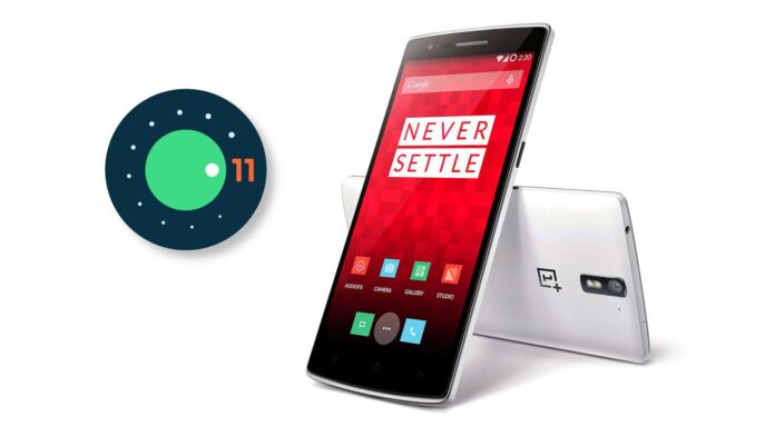 oneplus one android 11