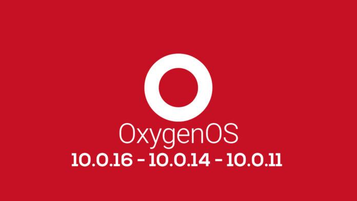 oneplus oxygenos 10.0.16 10.0.14 10.0.11
