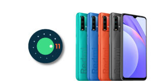 redmi 9t android 11