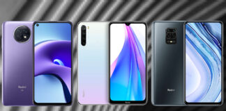 Redmi Note 9T 5G vs Redmi Note 8T vs Redmi Note 9 Pro
