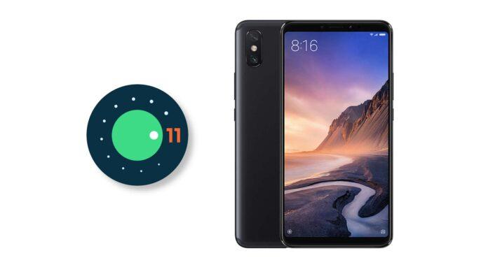 xiaomi mi max 3 android 11