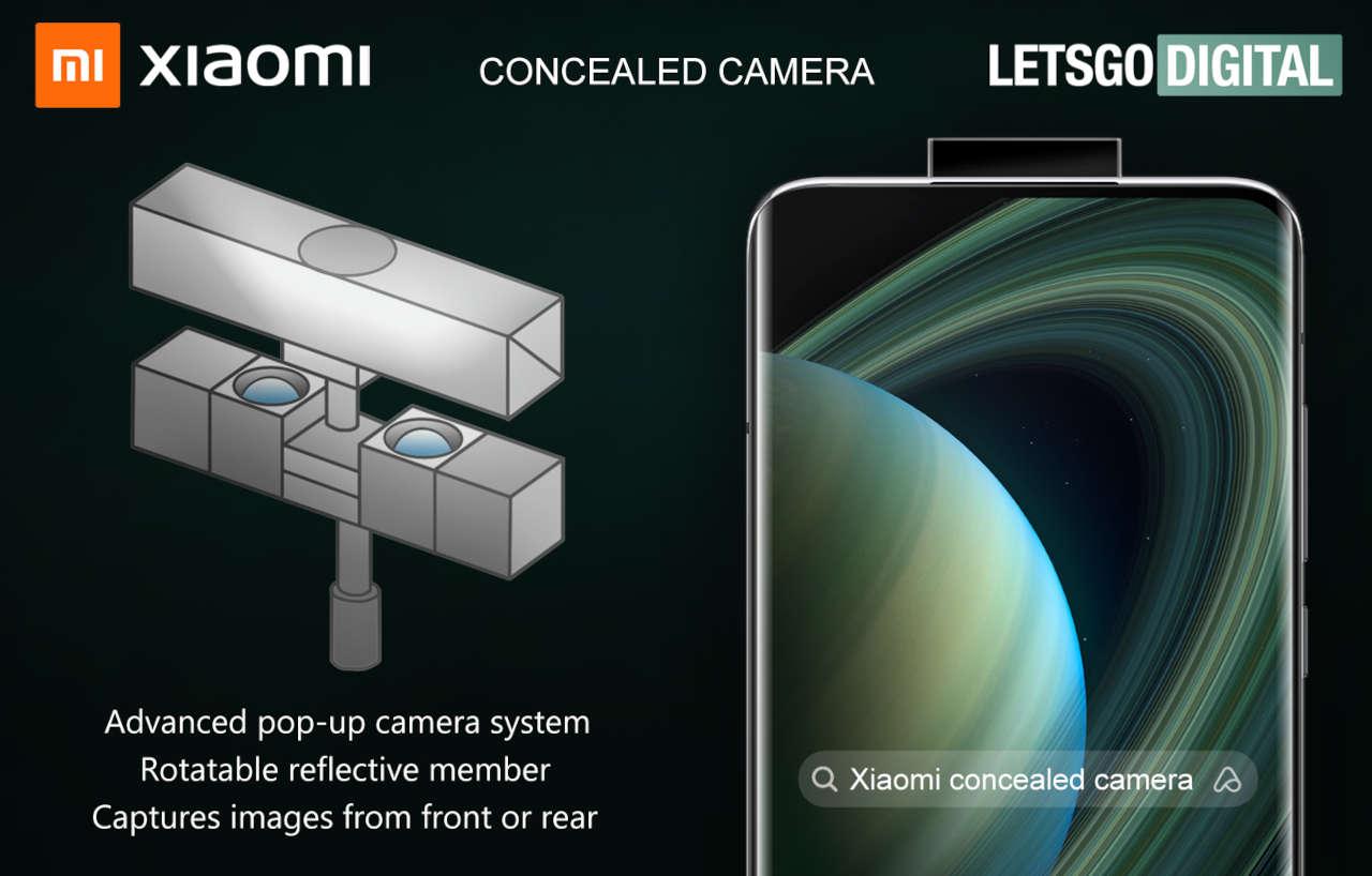 xiaomi pop-up camera brevetto