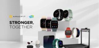 amazfit ces 2021 smartwatch fitness audio