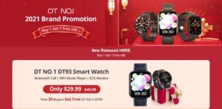 banggood 2 smartwatch al prezzo di 1