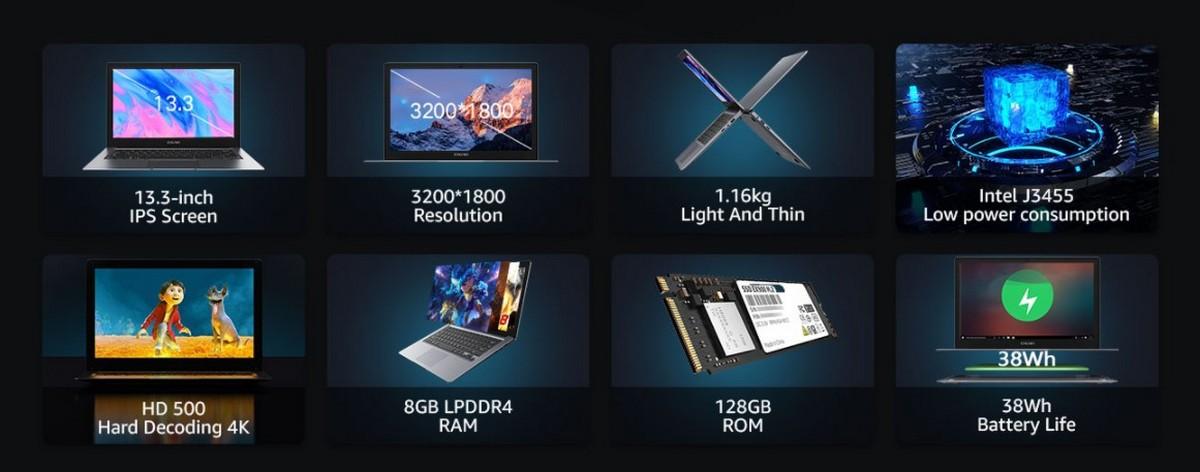 CHUWI HeroBook Pro+ ufficiale