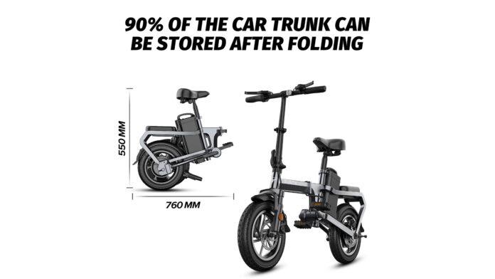 codice sconto engwe x5s offerta bici elettrica pieghevole
