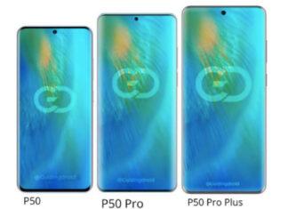 huawei p50 pro plus display