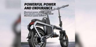offerta bici elettrica pieghevole engwe