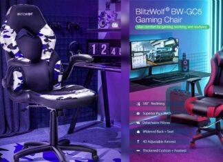 offerta codice sconto sedia gaming blitzwolf