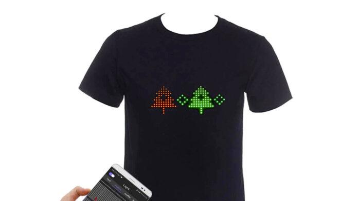 offerta t-shirt led smart