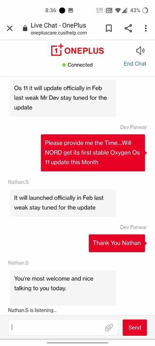oneplus nord android 11 oxygenos 11
