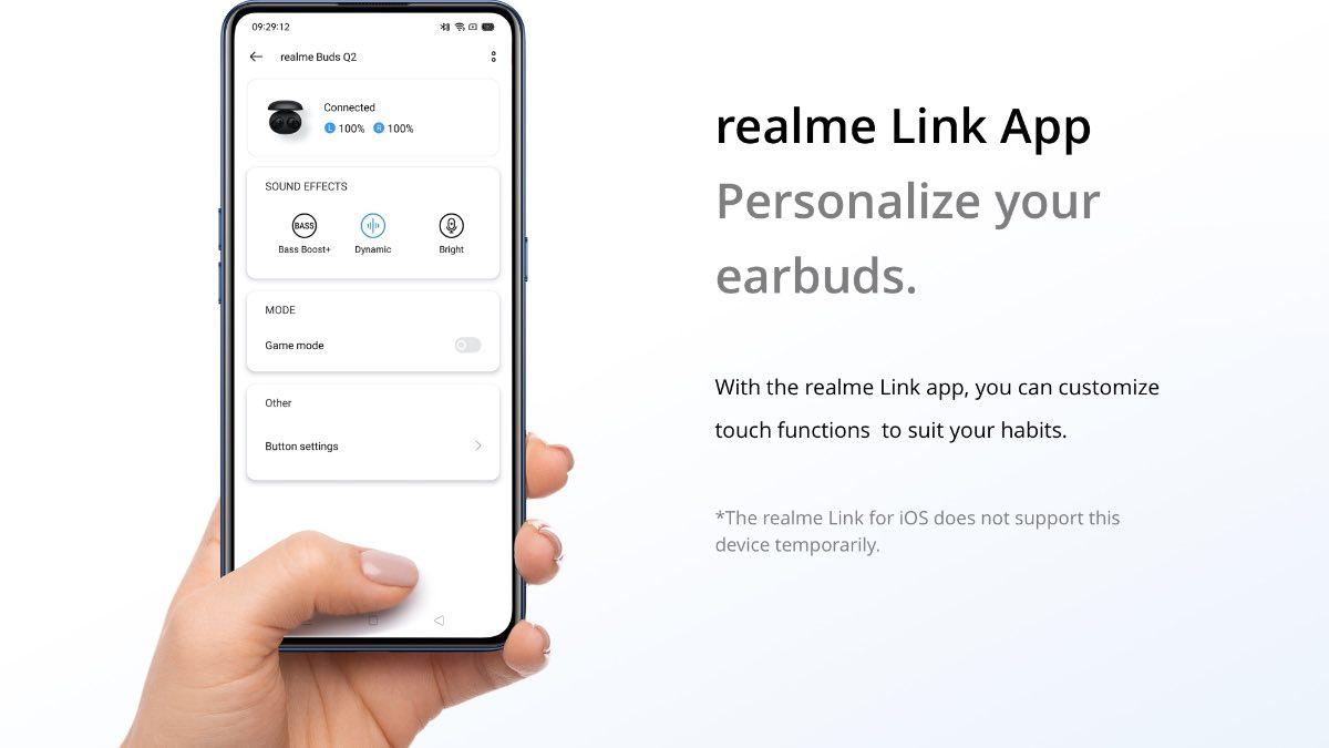 realme buds q2 app link