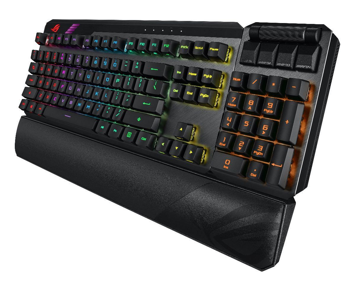 rog claymore 2 tastiera gaming