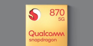 snapdragon 870 specifiche