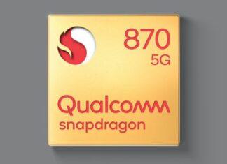 snapdragon 870 specifiche