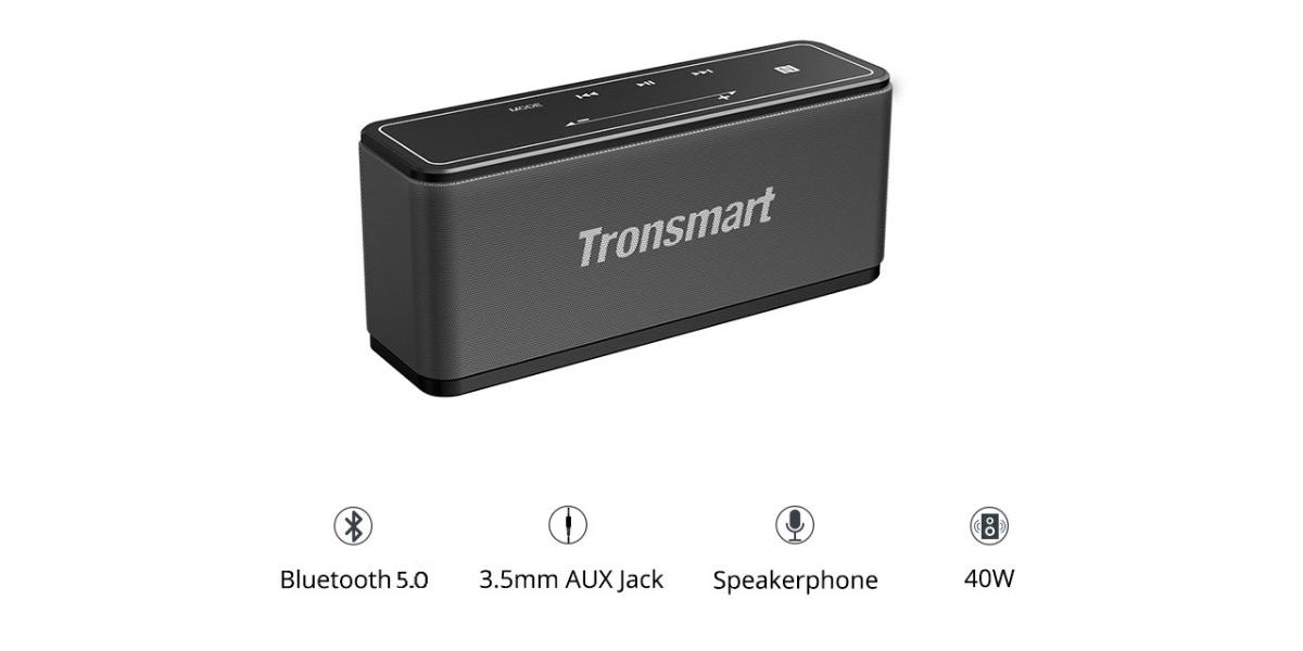 tronsmart element mega speaker smart