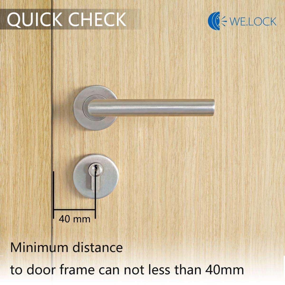 welock serratura smart card guida