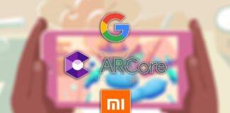 google arcore xiaomi