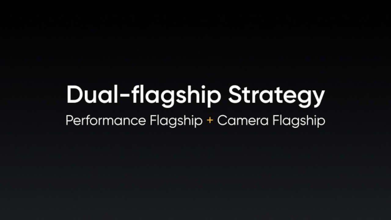 realme dual-flagship strategy