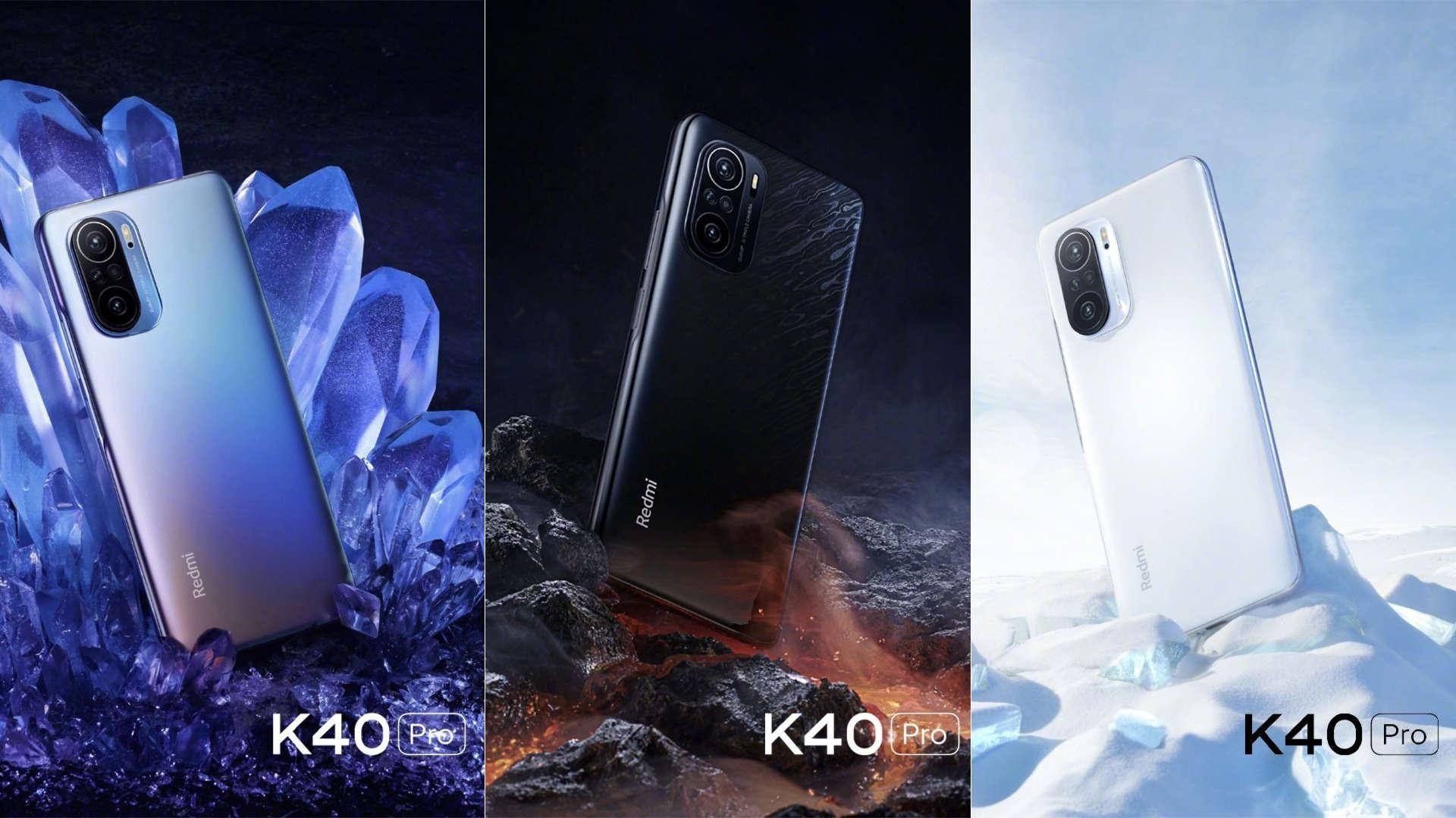 Redmi K40, K40 Pro y K40 Pro + oficiales | Especificaciones | Precio |  Disponibilidad - GizChina.it