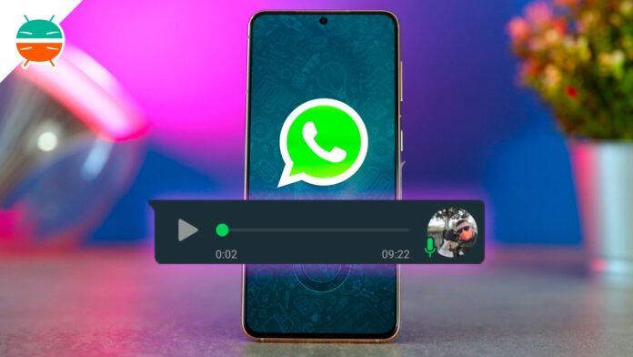 come ascoltare messaggi vocali whatsapp senza spunte blu