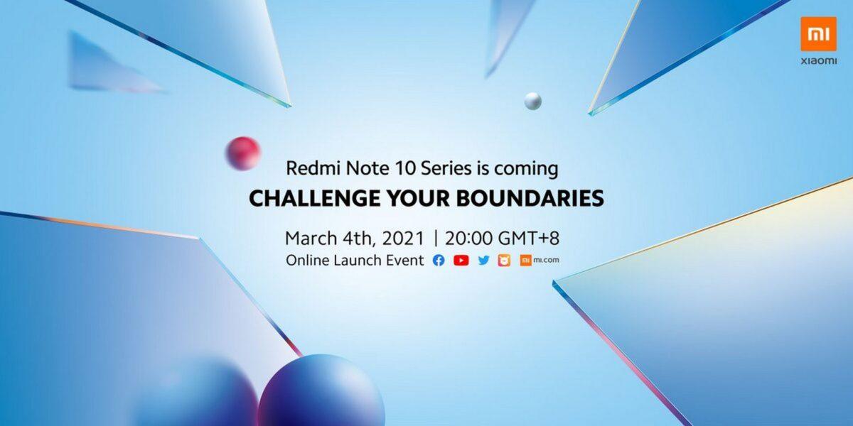 come seguire presentazione redmi note 10 pro live streaming