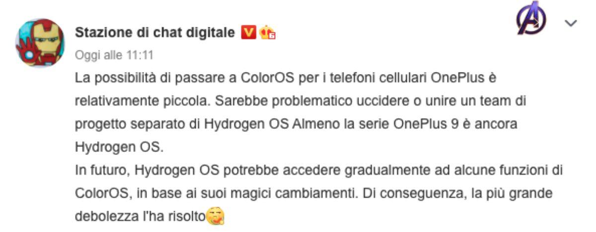 oneplus coloros