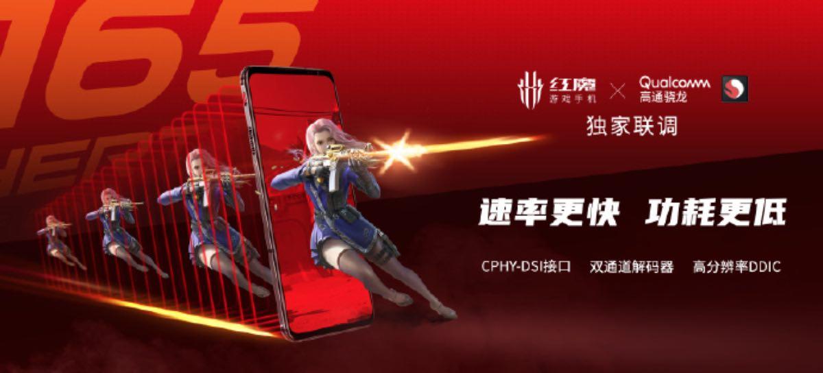 red magic 6 display refresh rate