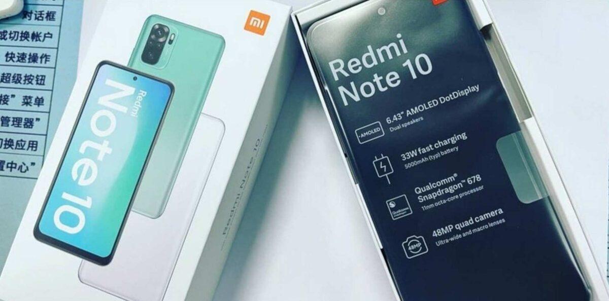 redmi note 10 box