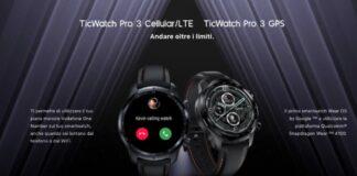 ticwatch smartwatch offerta
