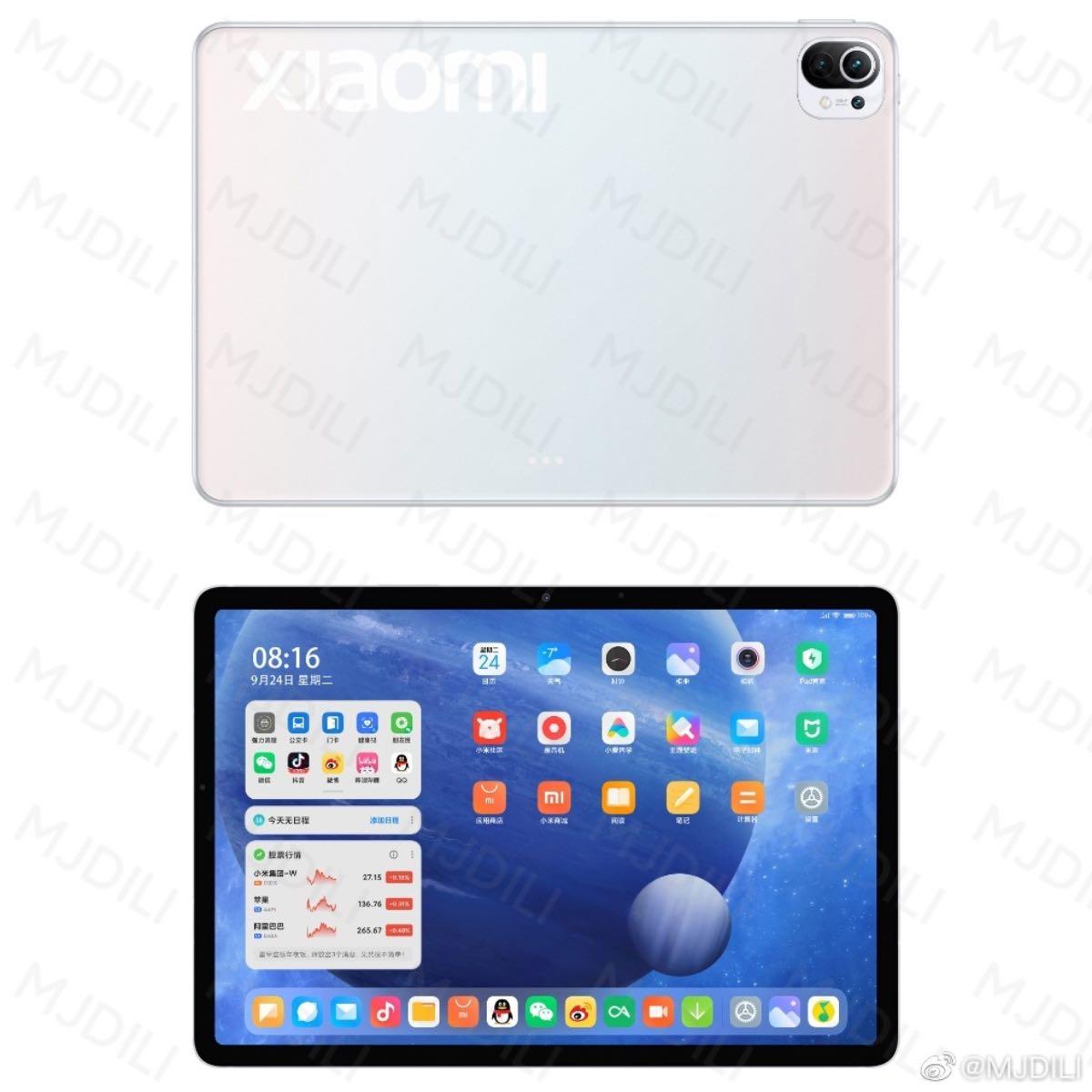 xiaomi mi pad 5 design 2