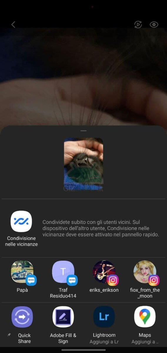 come migliorare schermata condivisione android sharedr