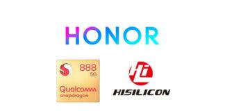 honor magic hisilicon snapdragon 888