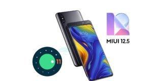 xiaomi mi mix 3 android 11 miui 12.5