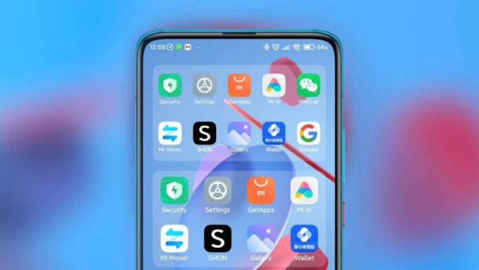 xiaomi miui 12.5 smart widget
