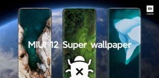 xiaomi miui 12 sfondi super wallpaper bug