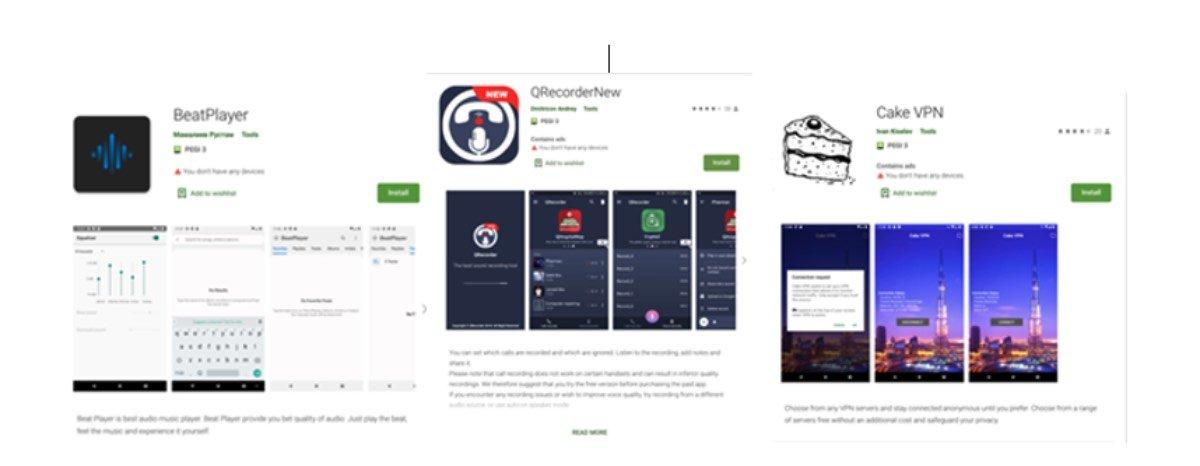 cast82 malware quali app evitare play store