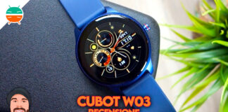 cubot w03