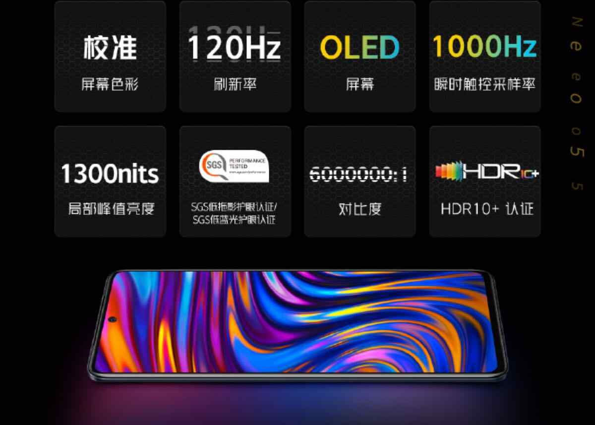 iqoo neo 5 display 12 3