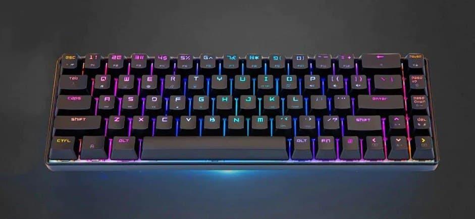 Magic Refiner MK14 tastiera meccanica 68 tasti RGB | GearBest
