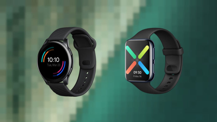 oneplus watch vs oppo watch