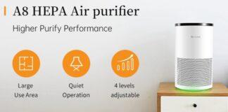 proscenic a8 offerta purificatore aria