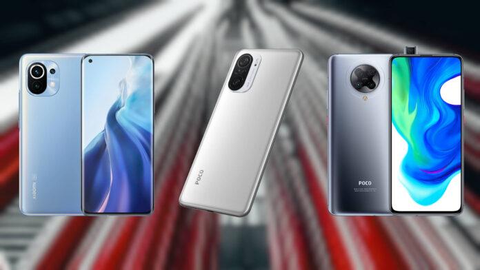 Xiaomi Mi 11 vs POCO F3 5G vs POCO F2 Pro