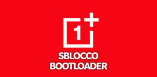 oneplus sblocco bootloader