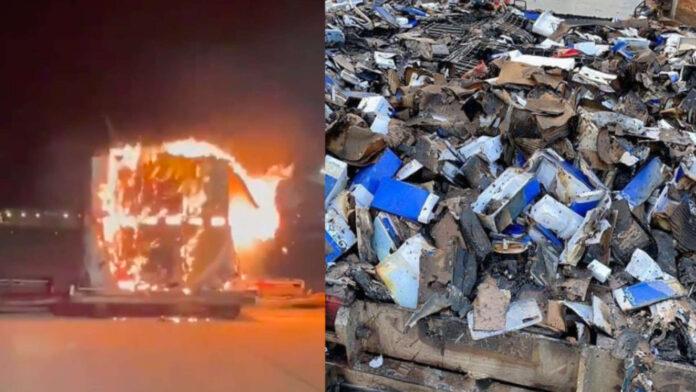 vivo y20 smartphone esplosi