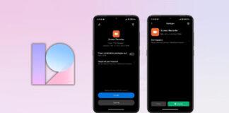 xiaomi miui 12.6 installazione app