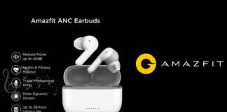 amazfit earbuds anc specifiche tecniche prezzo uscita
